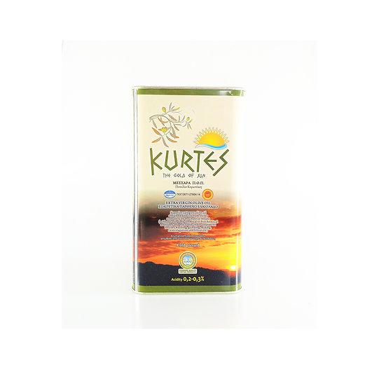 Extra Virgin Olive Oil 3lt KURTES