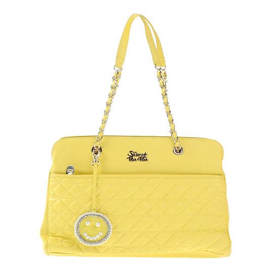Secret Pon Pon Yellow Handbag