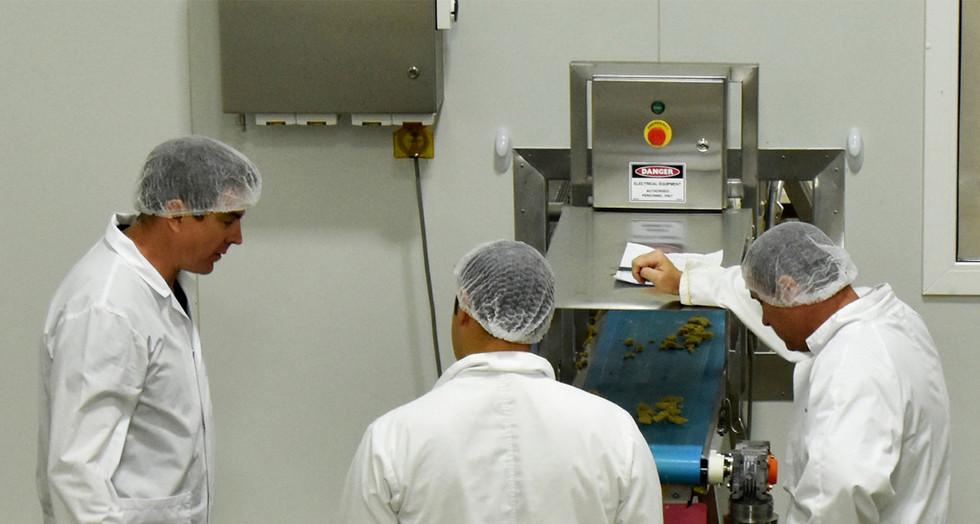 Proform Foods technicians at Mount Kuring-gai, Food Manufacturing NSW facility