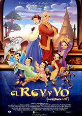 """EL REY Y YO"" - Warner Bros. Pictures (1999)"