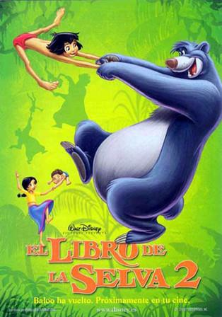 """EL LIBRO DE LA SELVA 2"" - Walt Disney Pictures (2003)"