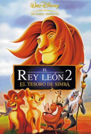"""""""EL REY LEÓN 2"""" - Walt Disney Pictures (1998)"""