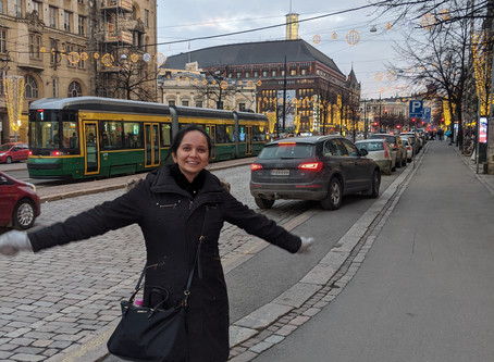 Layover Tourism - A Winter Evening in Helsinki, Finland