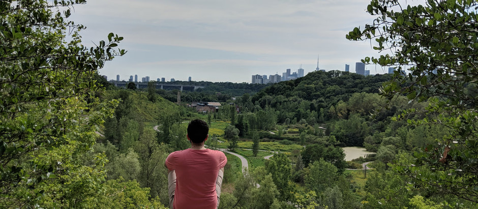 Evergreen Brick Works to Crothers Woods