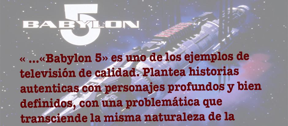 Babylon 5: una buena space opera televisiva
