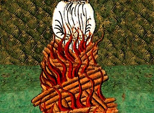 Dřevo a zakládání ohňů na Libušíně