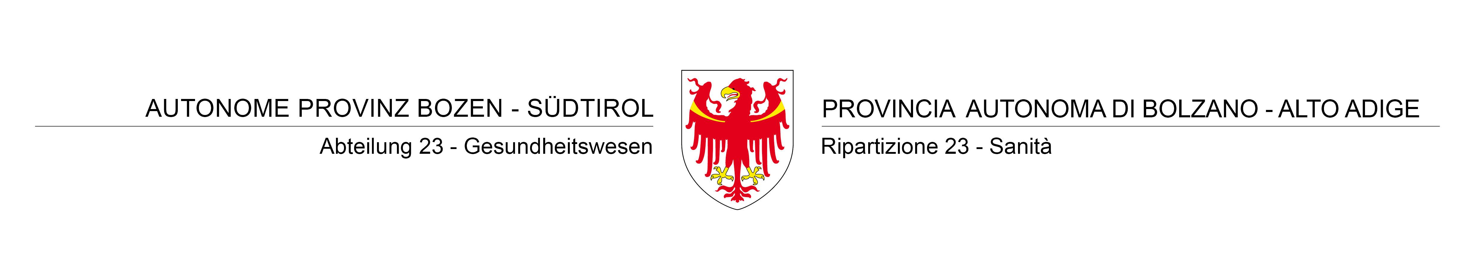 Sanität-Provinz Bozen