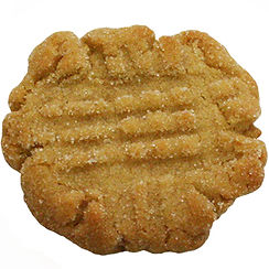 Cookie baked in Berlin with Homemade Peanut Butter and Touch of Cinnamon