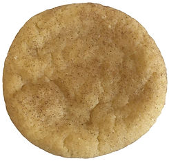 Traditional snicker doodle cookie with cinnamon sugar baked in Berlin