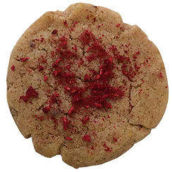 Intense tangy Rasberry cookie baked in Berlin