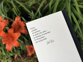 Back: Rhymes to Rhetoric by Kayla Henry paperback pocket book