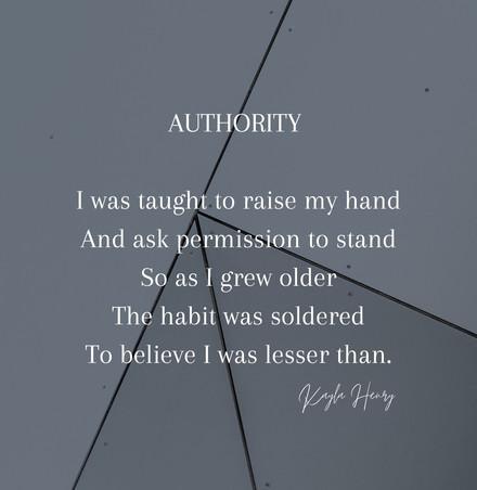 Authority - Kayla Henry