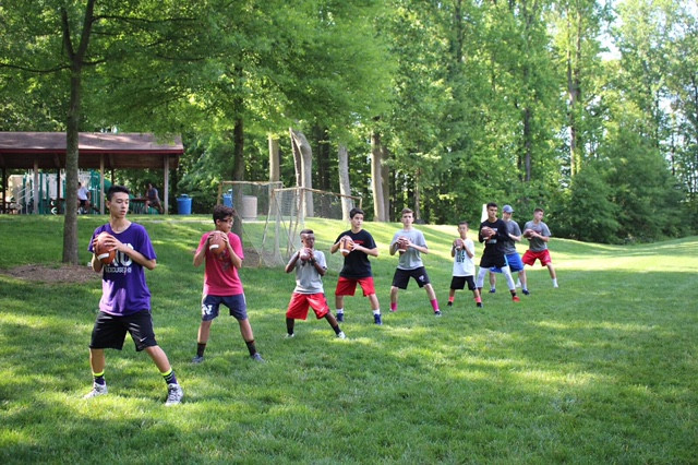 Small Group QB Training