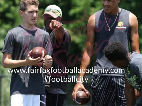 Football in July?