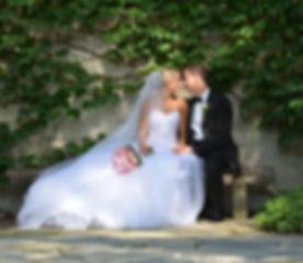 Wedding, Couples, Kiss