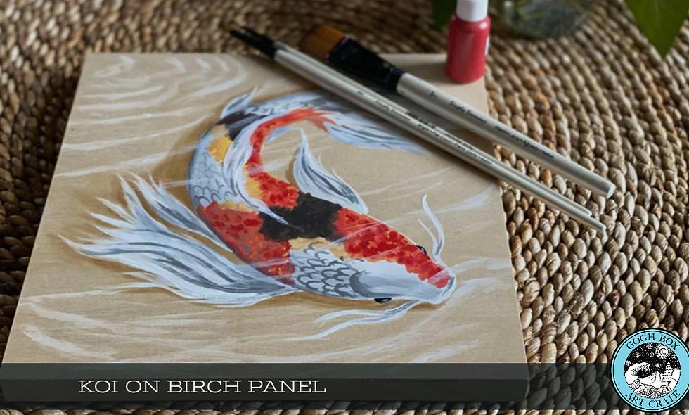 Koi Birch Panel
