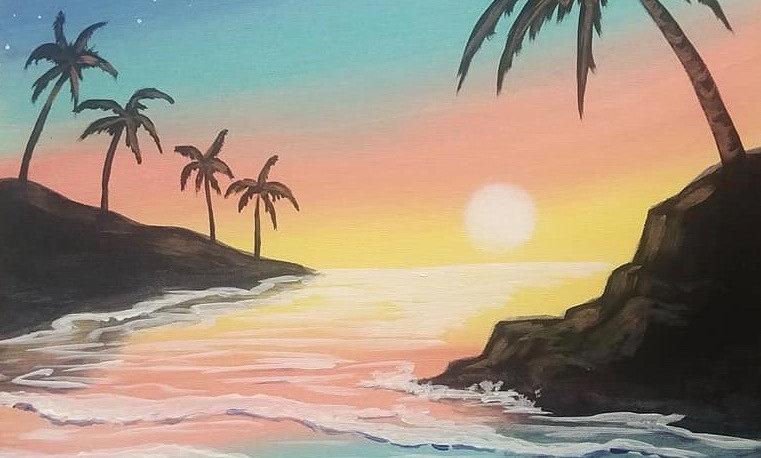 Tropical Getaway Party Box
