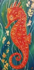 Gold Leaf Seahorse