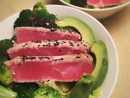 Bowl de atún