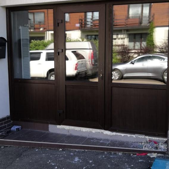 Врезка двери в существующую конструкцию