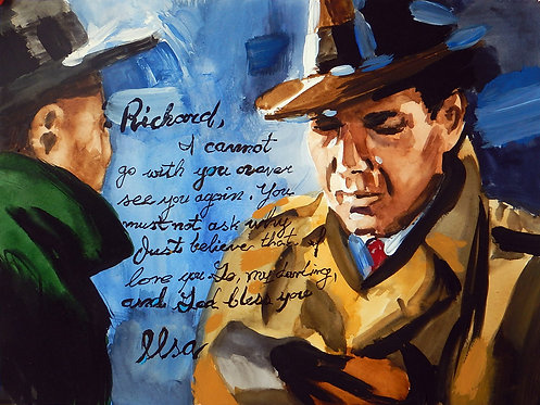 Casablanca- The Letter