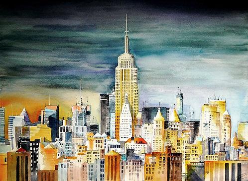 Colourful Manhattan