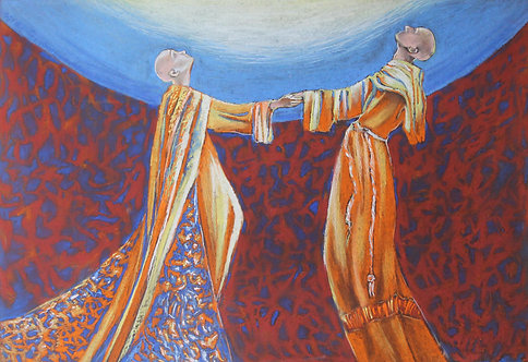 Hieros Gamos- Claire and Francis