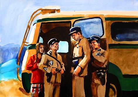 Gendarme of St. Tropez- Arrival