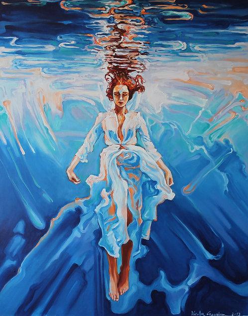 Aqua- inspired by a photograph by Rafal Makiela