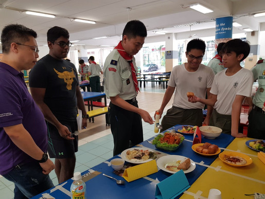 South Area Cooking Competition