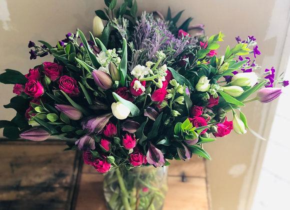 Vase Flower Arrangement - Large
