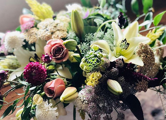 Vase Flower Arrangement - Centerpiece Size