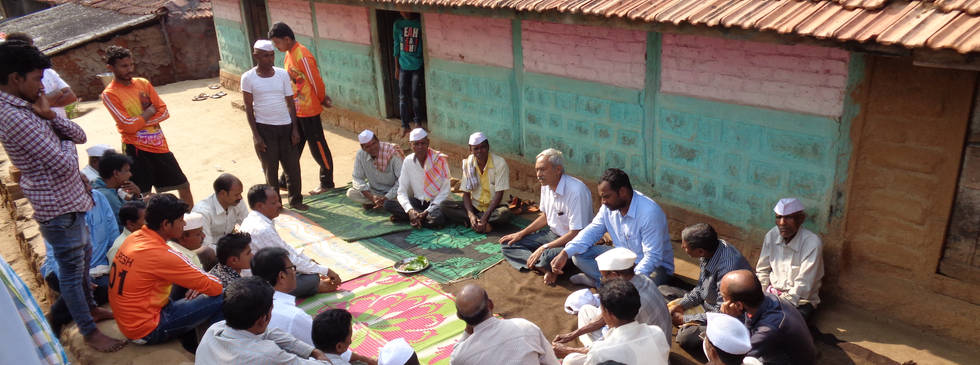 Gram Sabha at Bopoli Village