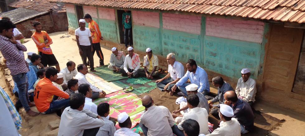 Gram Sabha at Bopoli Village