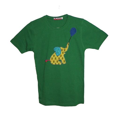 Elephant Applique T-Shirt