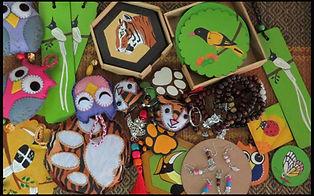 Community made handicraft products