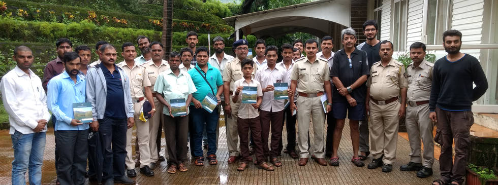 Natue Guide Training Collaboration with Forest Dept.