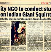 2011-08-11_Giant Squirrel Article TOI_ed