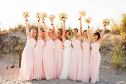 Rachelle and Bridesmaids