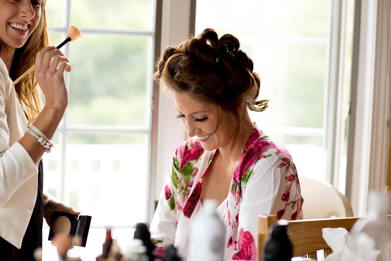 Rachelle Getting ready