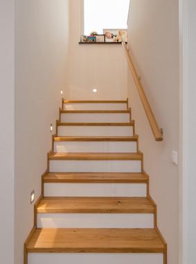 Treppenstufen aus Eichen Parkett