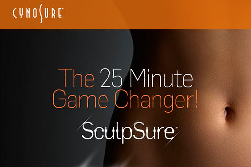 SculpSure Treat to Complete Any 1 Area | 3 Treatments