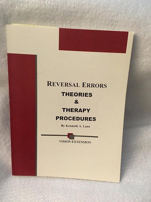 Reversal Errors   Lane