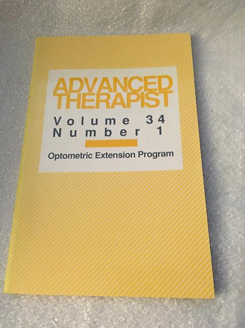 Advanced Therapist  Vol 34  Number 1