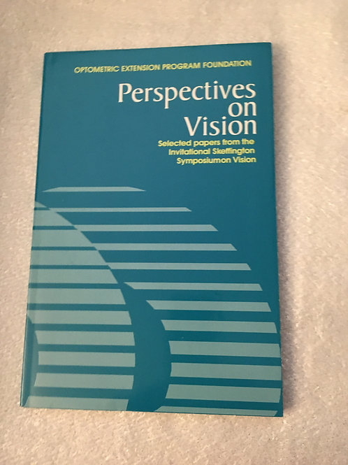Perspectives on Vision: Vol 1