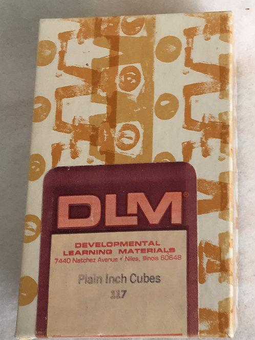 Inch cube patterns DLM