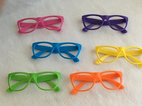Neon Glasses:  red/green lenses