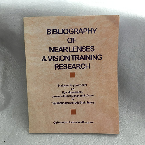 Bibliography of Near Lense and Vision Training Research