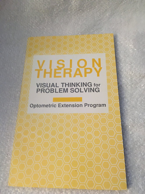 Visual Thinking for Problem Solving (Vision Therapist Vol 38, #3, 96/97)