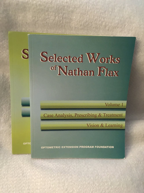Selected Works of Nat Flax  Vols 1 and 2